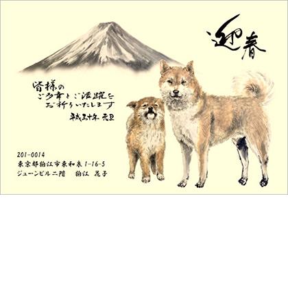 【狛江教室 イワサキ様】大好きな富士山と文字の配置にこだわった作品です。